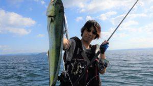 佐藤慶将さん釣り中の写真